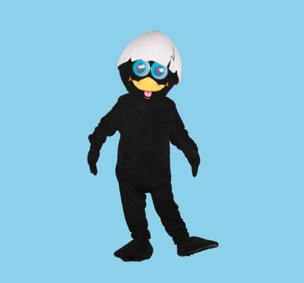 Calimero-Küken-Kostüme-Maskottchen