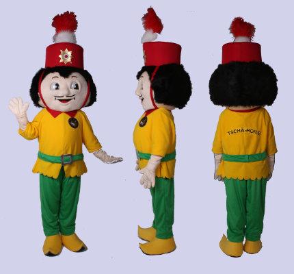 Tschä-Hoile-Karneval-Kostüm-Maskottchen